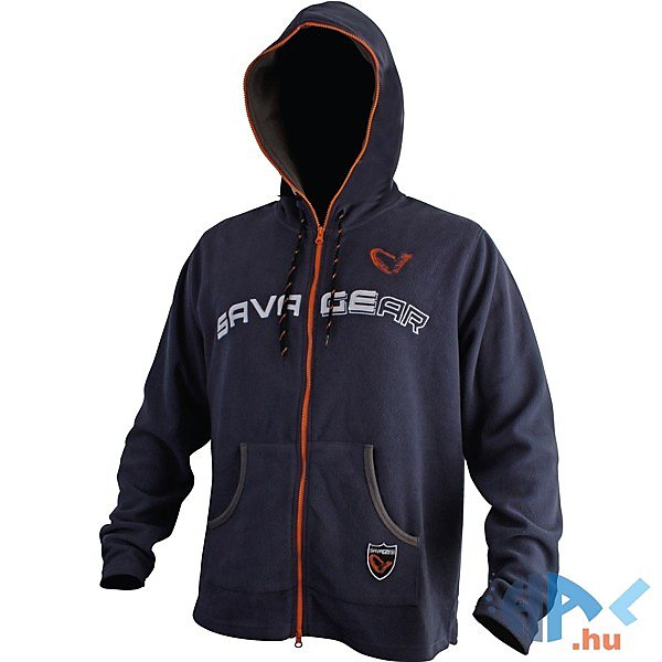 Savage Gear Fleece Hoodie Jacket Midnight Blue pulóver - Hal.hu 98377d67a3