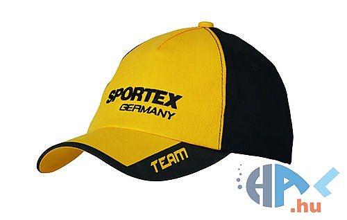 Sportex Baseball sapka (sárga-fekete) - Hal.hu 48fec70c2d