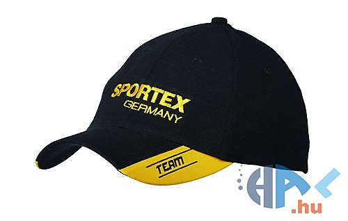 Sportex Baseball sapka (fekete-sárga) - Hal.hu 690b957e6f