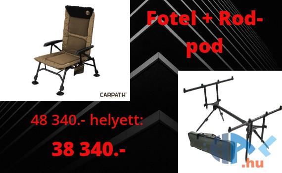 Fotel + Rod pod szett